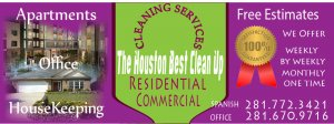 Cleaning Services Houston