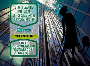 commercial janitorial services houston