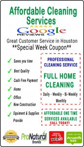 maid service houston